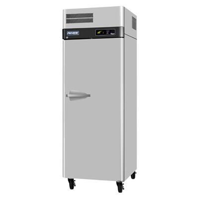 Turbo Air PROF Premiere Freezer with 1 Solid Door, Digital Temperature Control System, Hot Gas Condensate System, High-Density Polyurethane Insulation and Stainless Steel Cabinet Construction