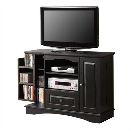 Walker Edison WQ42BC3 42 Inch Bedroom TV Console with Media Storage