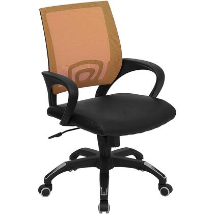 "Flash Furniture CPB176A01ORANGEGG 22.5"" Contemporary Office Chair"