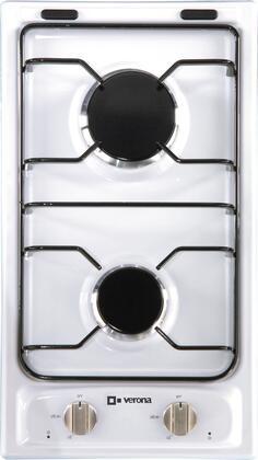 "Verona VECTG212FDW 12"" Gas Sealed Burner Style Cooktop"