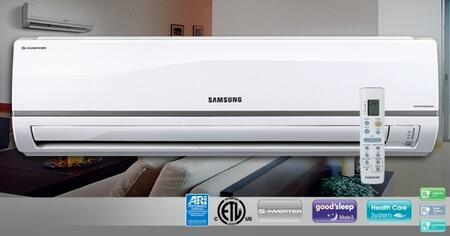 Samsung AQV18NSDY Mini-Split Air Conditioner Air Conditioner Cooling Area, |Appliances Connection