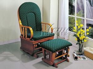 Acme Furniture 02264GN Chesterfield Series  Fabric Rocking Chair