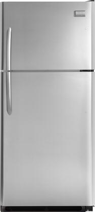 Frigidaire FGHT2132PF Gallery Series Freestanding Top Freezer Refrigerator with 21.0 cu. ft. Total Capacity 2 Glass Shelves 5.3 cu. ft. Freezer Capacity