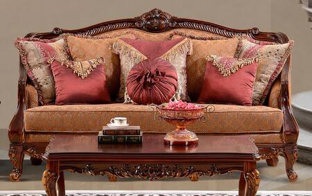 Homey Design HD904S  Stationary Fabric Sofa