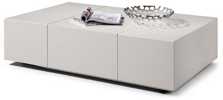 VIG Furniture VGWCP592AWHT White Modern Table