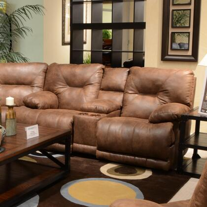 Catnapper 64389122829302829 Voyager Series Faux Leather Reclining with Metal Frame Loveseat