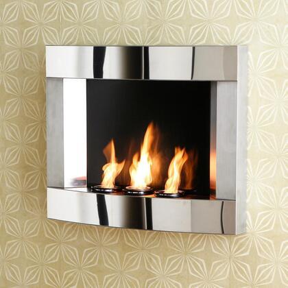 Southern Enterprises FA5813 Wall Mountable Electric Fireplace