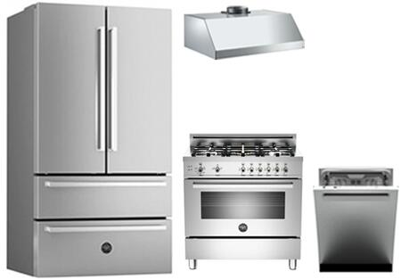 Bertazzoni 768340 Professional Kitchen Appliance Packages