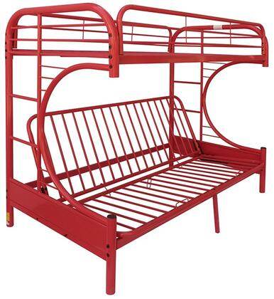 Acme Furniture 02091WRD Eclipse Series  Twin over Full Size Bunk Bed