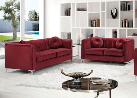 Meridian 6122PCSTLKIT4 Isabelle Living Room Sets