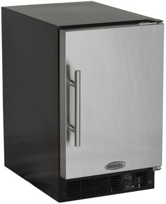 Picture of 15IMBSFR Solid Stainless Door 15 ADA Height Ice Maker with 15 lbs Storage Capacity  12 lbs Daily Production  Designer Handle  Manual Defrost  Crescent Style