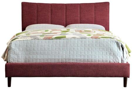 Furniture of America CM7678RDCKBED Ennis Series  California King Size Bed