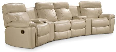Taupe Motion Six Piece Home Theater Group