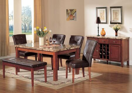 Acme Furniture 07045chbs Bologna Dining Room Sets