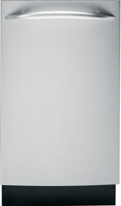 """GE Profile PDW1860NSS 18"""" Profile Series Built In Fully Integrated Dishwasher 