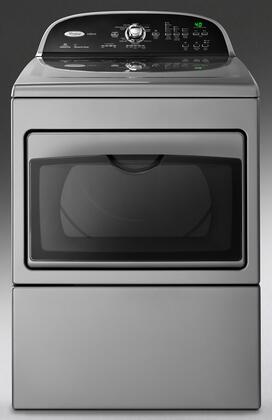Whirlpool WGD5700X Cabrio 7.4 cu. ft. Gas Dryer with Sixth Sense Technology, 8 Dry Cycles, 5 Temperature Options, and 150 Minute Wrinkle Shield Option,