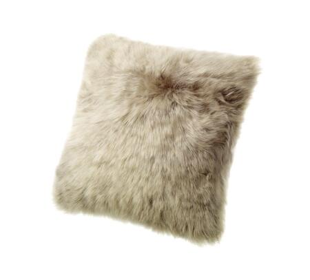 "Auskin Auskin CLS35F 14"" Square Sheepskin Wool Cushion in"