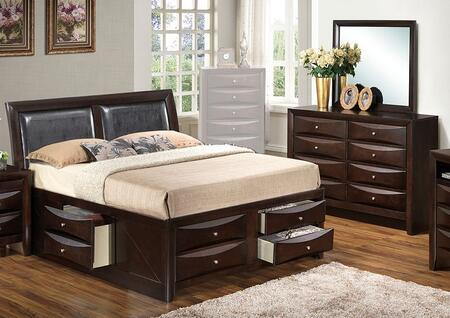Glory Furniture G1525IKSB4DM G1525 King Bedroom Sets