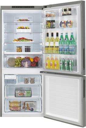 LG LBNC15221V 28 Inch Counter Depth Bottom Freezer Refrigerator