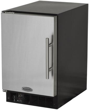 "Picture of 15IMBSFL Solid Stainless Door 15"" ADA Height Ice Maker with 15 lbs. Storage Capacity 12 lbs. Daily Production Designer Handle Manual Defrost Cresc"