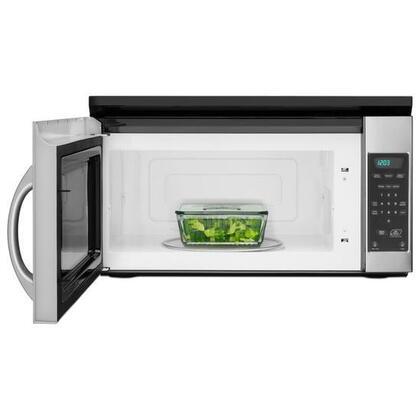 Amana Amv1150vas 1 5 Cu Ft Over The Range Microwave Oven