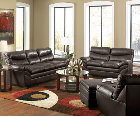 Simmons Upholstery 9515030201095SOHOESPRESSO Living Room Set