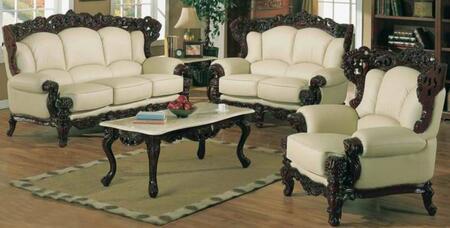 J. Horn 2189IVORYS3SET Living Room Sets