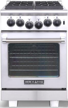 """American Range ARR244N 24"""" Heritage Series Gas Freestanding"""