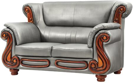 Glory Furniture G826L Faux Leather Stationary Loveseat