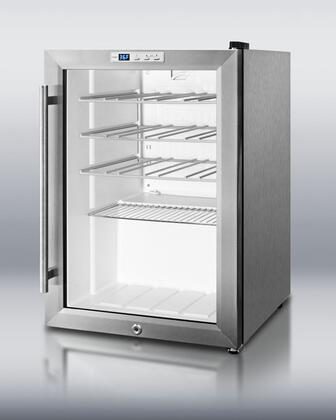 "Summit SCR312LCSSWC 17.25""  Wine Cooler"