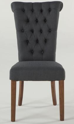 Home Trends & Design WA113 Arabella Series Contemporary Fabric Wood Frame Dining Room Chair