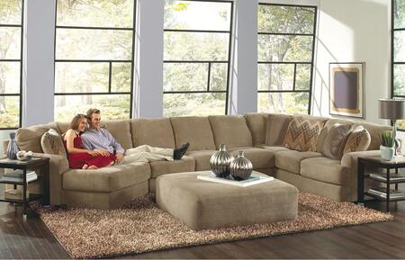 """Jackson Furniture Malibu Collection 3239-92-30-72- 188"""" 3-Piece Sectional with Left Arm Facing Piano Wedge, Armless Sofa and Right Arm Facing Section with Corner in"""