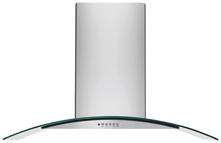 Frigidaire FHWC3x60LS Glass Canopy Wall-Mount Range Hood with Washable Filters, Halogen Lighting and Bright Lighting, Stainless Steel