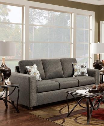 Chelsea Home Furniture 193603VO Talbot Series Stationary Fabric Sofa