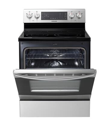 Samsung Appliance Ne595r1absr 30 Inch Electric