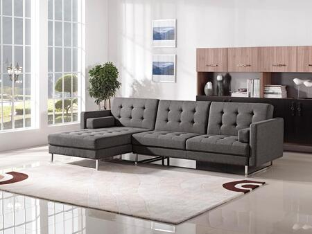 ESF I1772-X Sectional in Grey