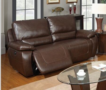 Global Furniture USA U1027POWERS  Reclining Bonded Leather Sofa