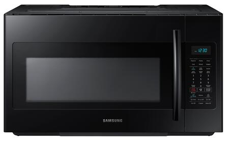 "Samsung ME18H704SF 30"" Over The Range Microwave Oven with 1.8 cu. ft. Capacity, 1000 Cooking Watts, 10 Power Levels, Sensor Cooking Options, Ceramic Enamel Interior and 400 CFM Airflow in"