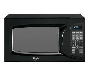 Whirlpool MT4110SPB Countertop Microwave, in Black