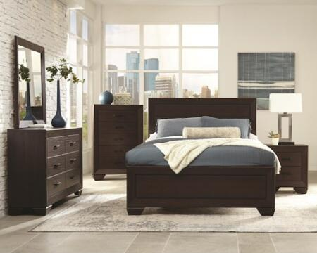 Coaster 204391KE4PC Fenbrook King Bedroom Sets