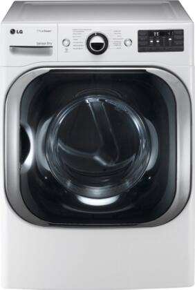 "LG DLGX8001W 29"" Gas SteamDryer Series Gas Dryer"