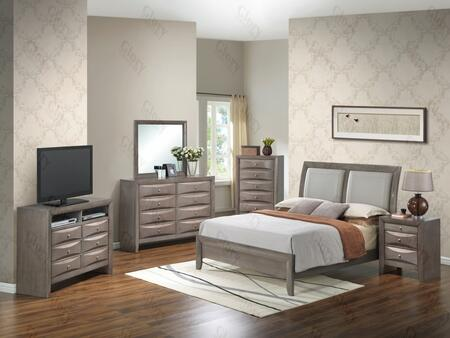 Glory Furniture G1505AKBNTV2 G1505 King Bedroom Sets