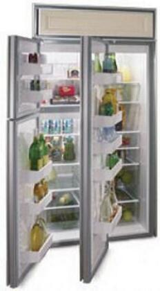 Northland 363DWBR  Counter Depth Side by Side Refrigerator with 22.8 cu. ft. Capacity in Black