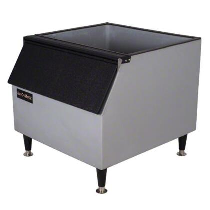 Ice-O-Matic BxxPx Slope Front Storage Bin with Storage Capacity, Durable Stainless Finsih, Sturdy Leg Design, NSF Approved Legs, in Stainless Steel