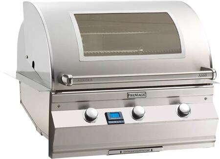 "FireMagic A660I5E1XW Aurora 36.5"" Grill with E-Burners, Digital Thermometer, and Magic View Window"