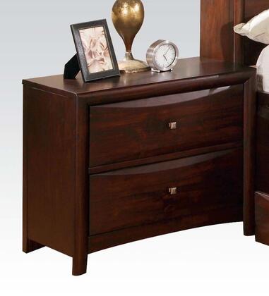 Acme Furniture 07403 Manhattan Series Rectangular Wood Night Stand