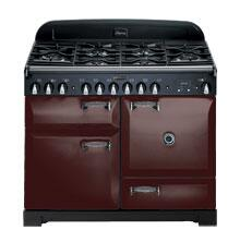 AGA ALEG44ECDBRK Legacy Series Electric Freestanding Range with Smoothtop Cooktop, 2.2 cu. ft. Primary Oven Capacity, Storage in Brick