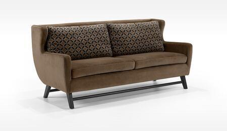 Armen Living LC10383BR Midtown Series  Sofa