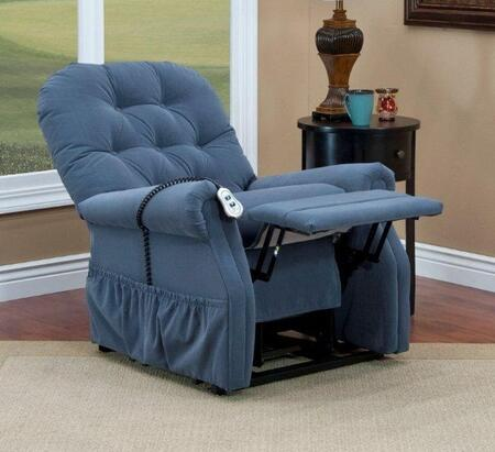 MedLift 3555AAW Contemporary Fabric Wood Frame  Recliners