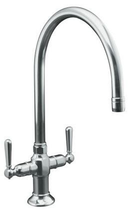 Kohler K-7341-4- Double Handle Kitchen: